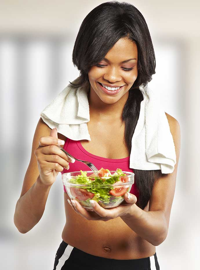 <h3>What is right to eat after a workout?</h3>